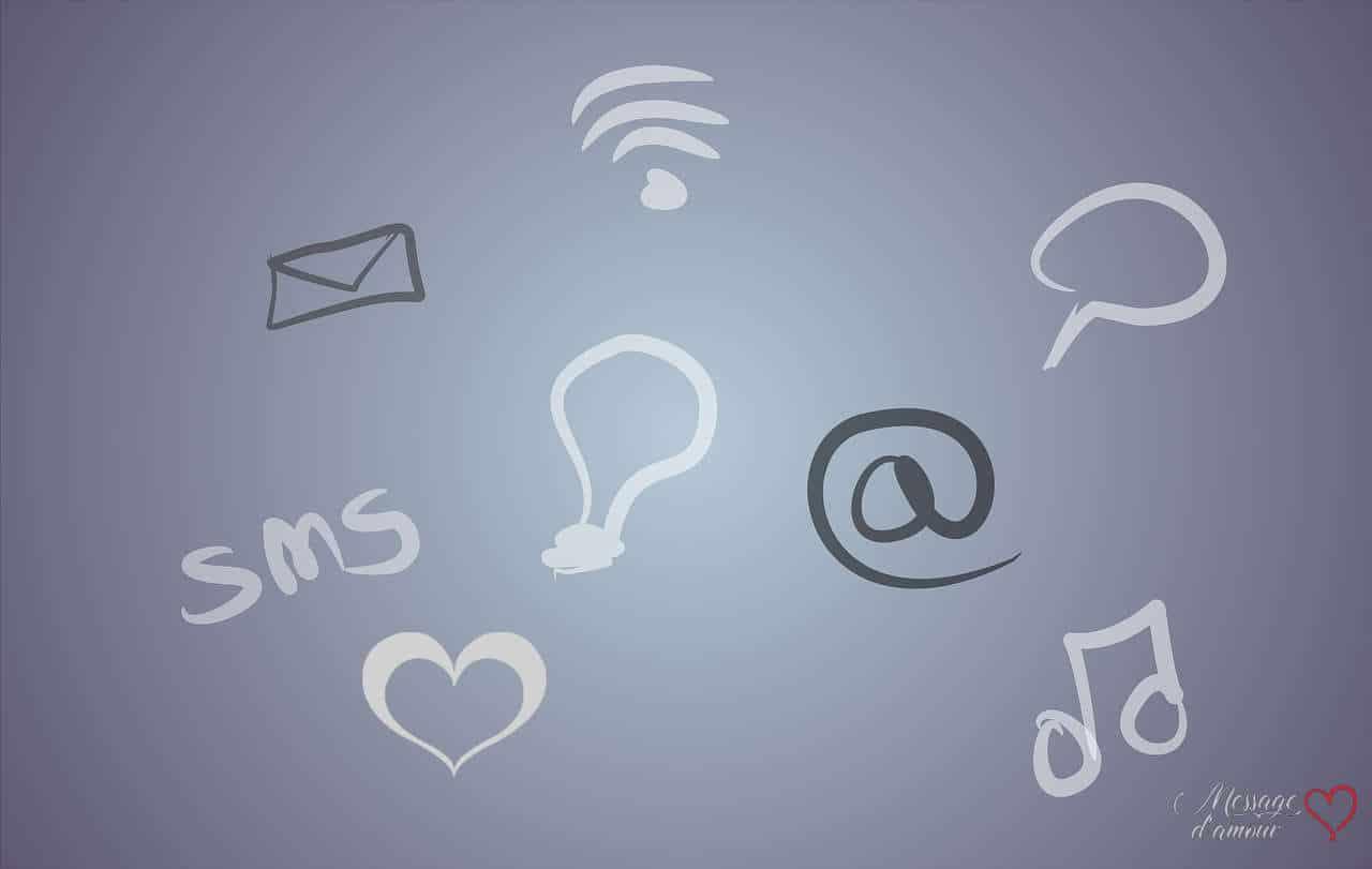 Idées SMS d'amour
