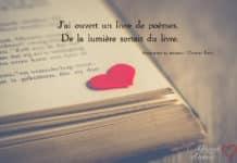 livre de poèmes