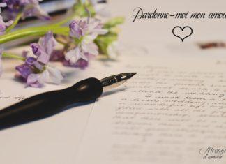 Pardonne moi mon amour