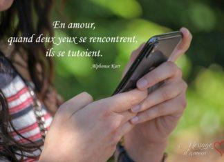 sms pour draguer une fille