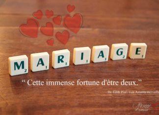Citation demande en mariage