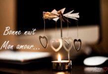 Carte bonne nuit mon amour