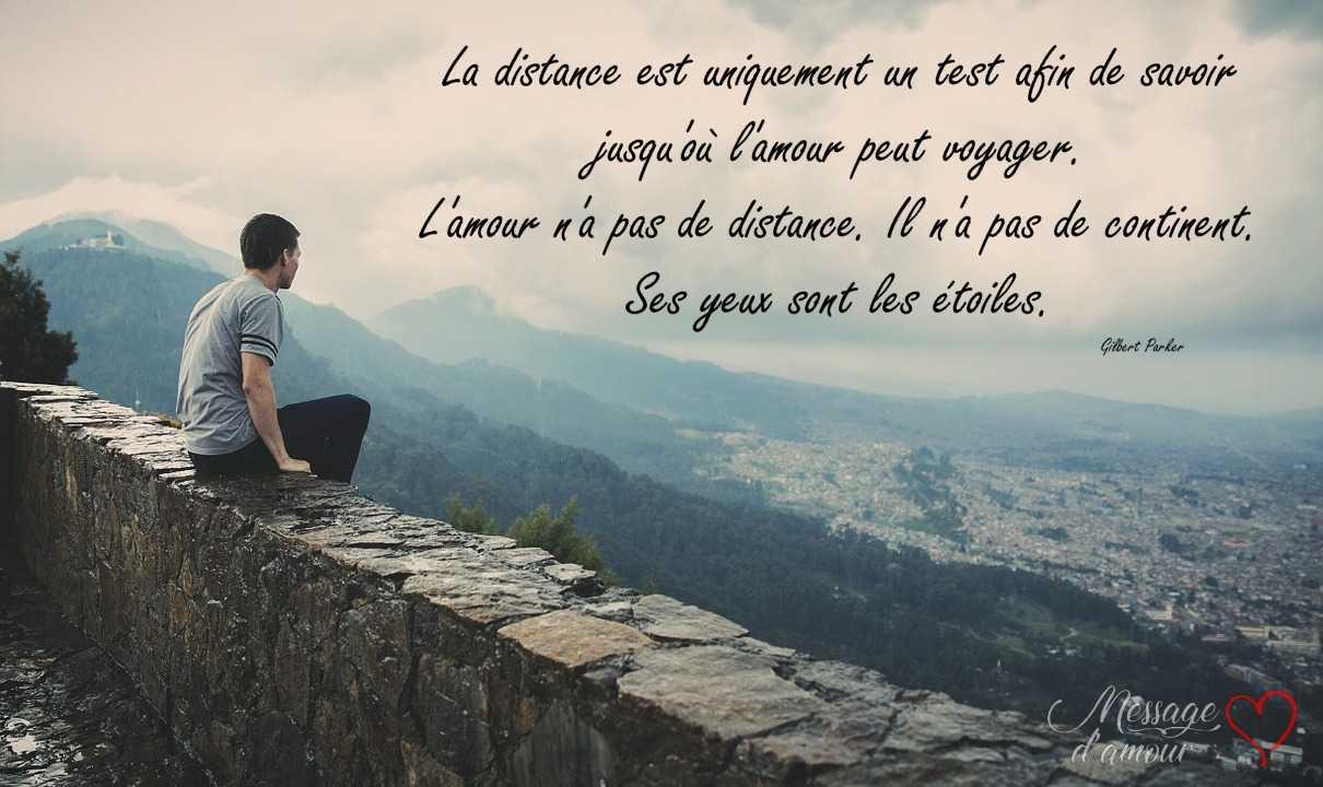 Citation amour distance
