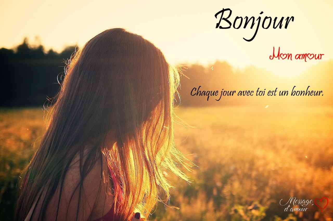 27 Messages Pour Dire Bonjour à Sa Chérie Message Damour