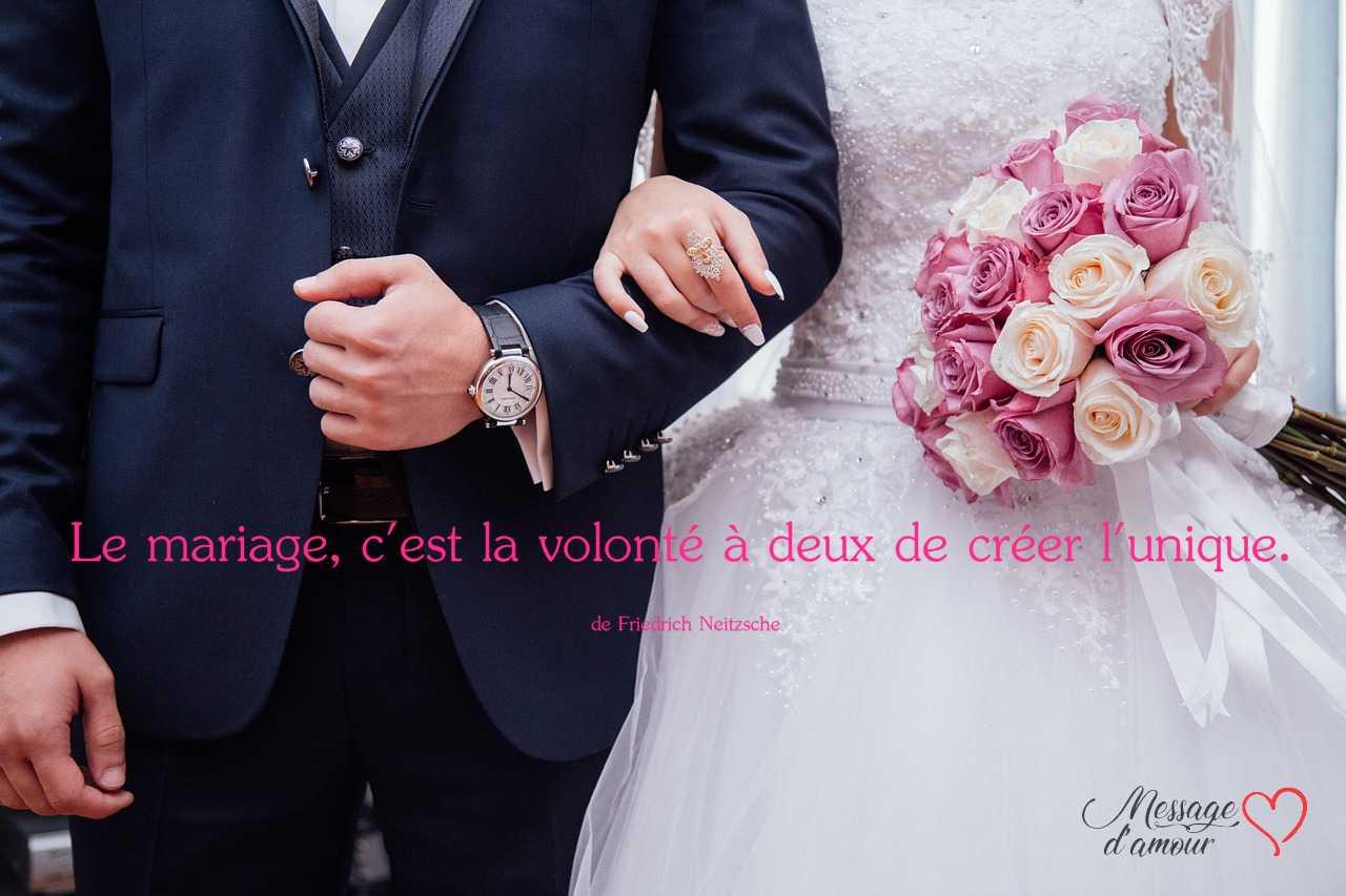 Citation sur le mariage