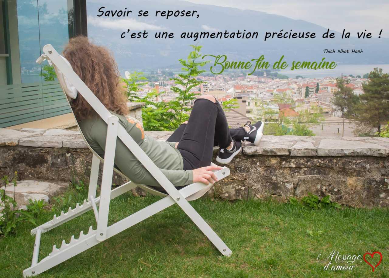 Textes Pour Souhaiter Une Bonne Fin De Semaine Message D Amour