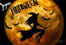 Carte joyeux Halloween