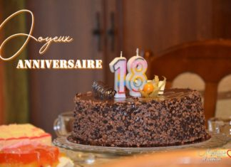 Joyeux anniversaire 18 ans