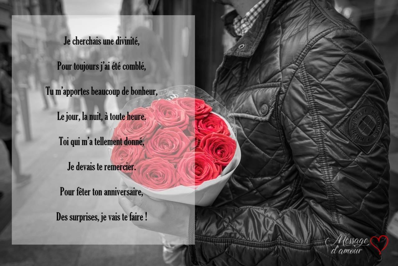 Souhaiter Un Bon Anniversaire à Sa Femme Message Damour
