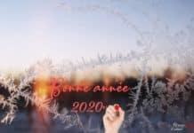 Message Bonne année 2020