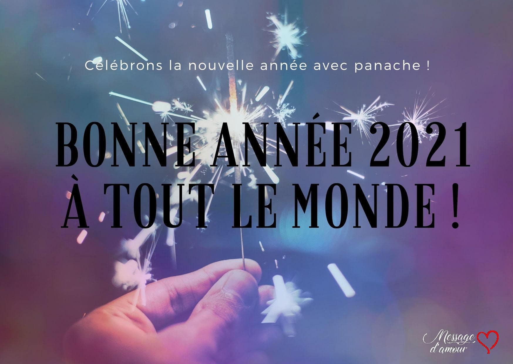 Bonne année 2021 a tout le monde