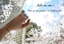 Mot pour dire bonjour mon amour