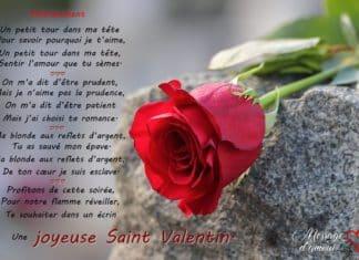 Poème Saint Valentin