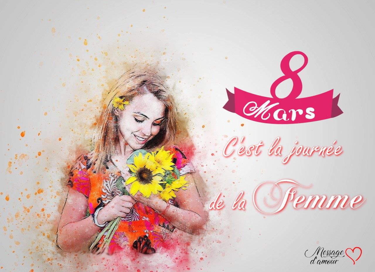 8 mars c'est la journée de la femme