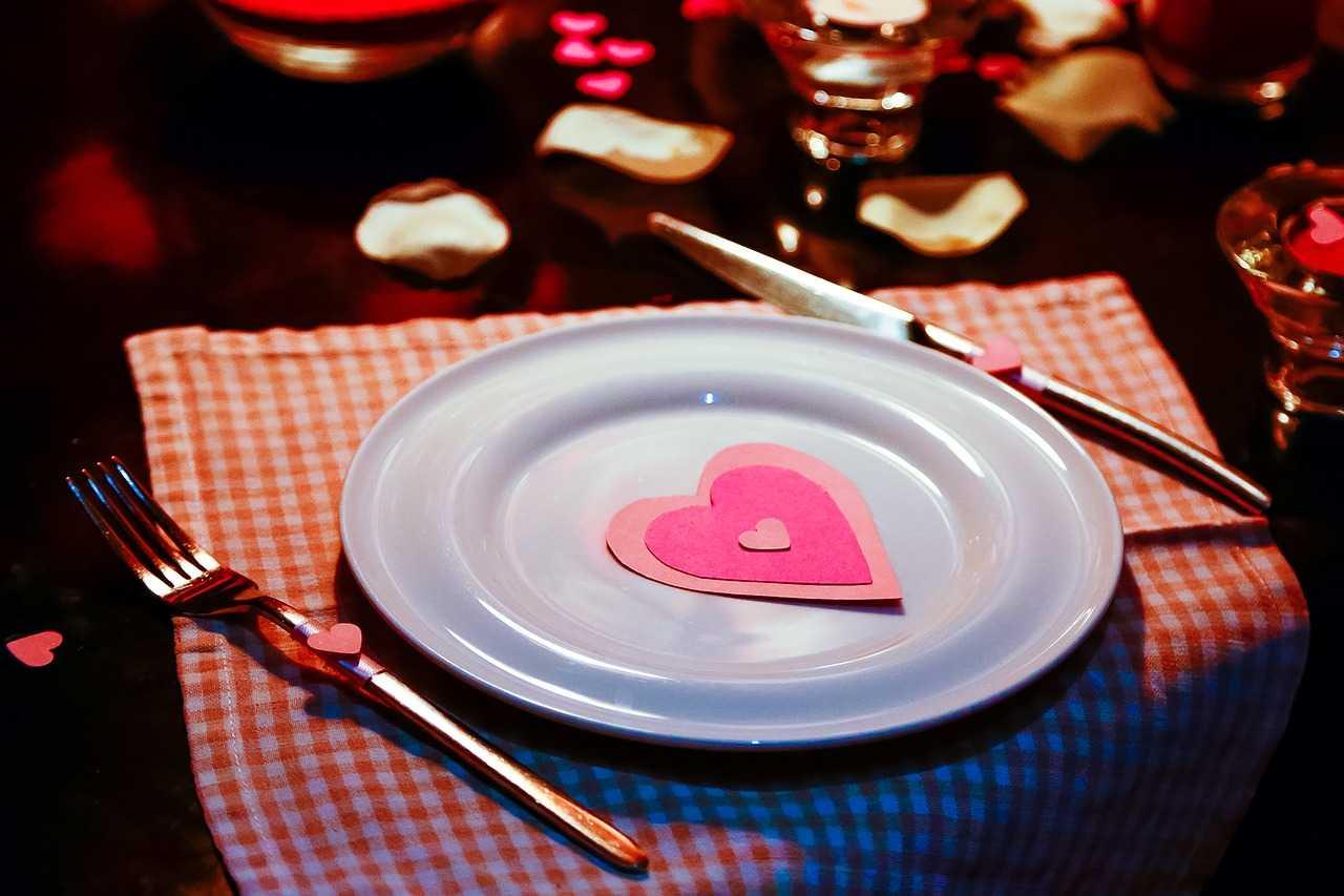 Un dîner en amoureux