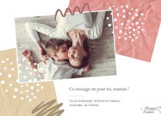 Un message pour une mère forte et courageuse