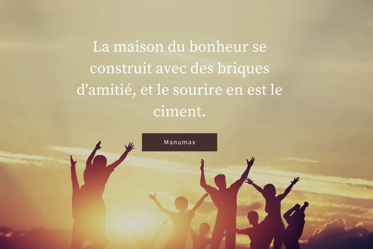 citation amitié Manumax
