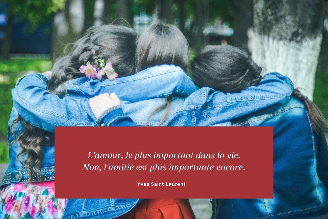 citation amitié amour et mode
