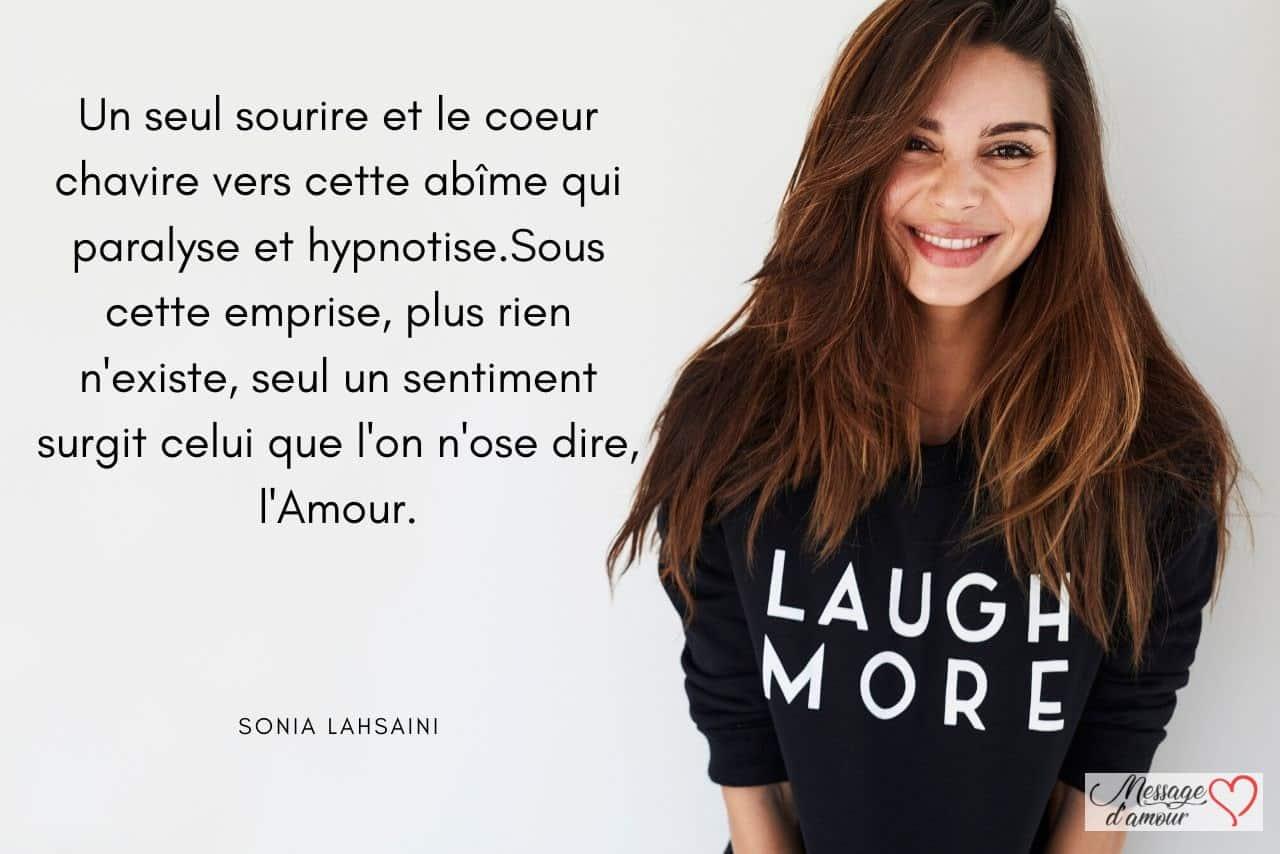 citation sourire amour