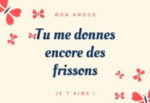 Message Amour Carte