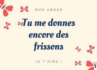 Message Amour Carte