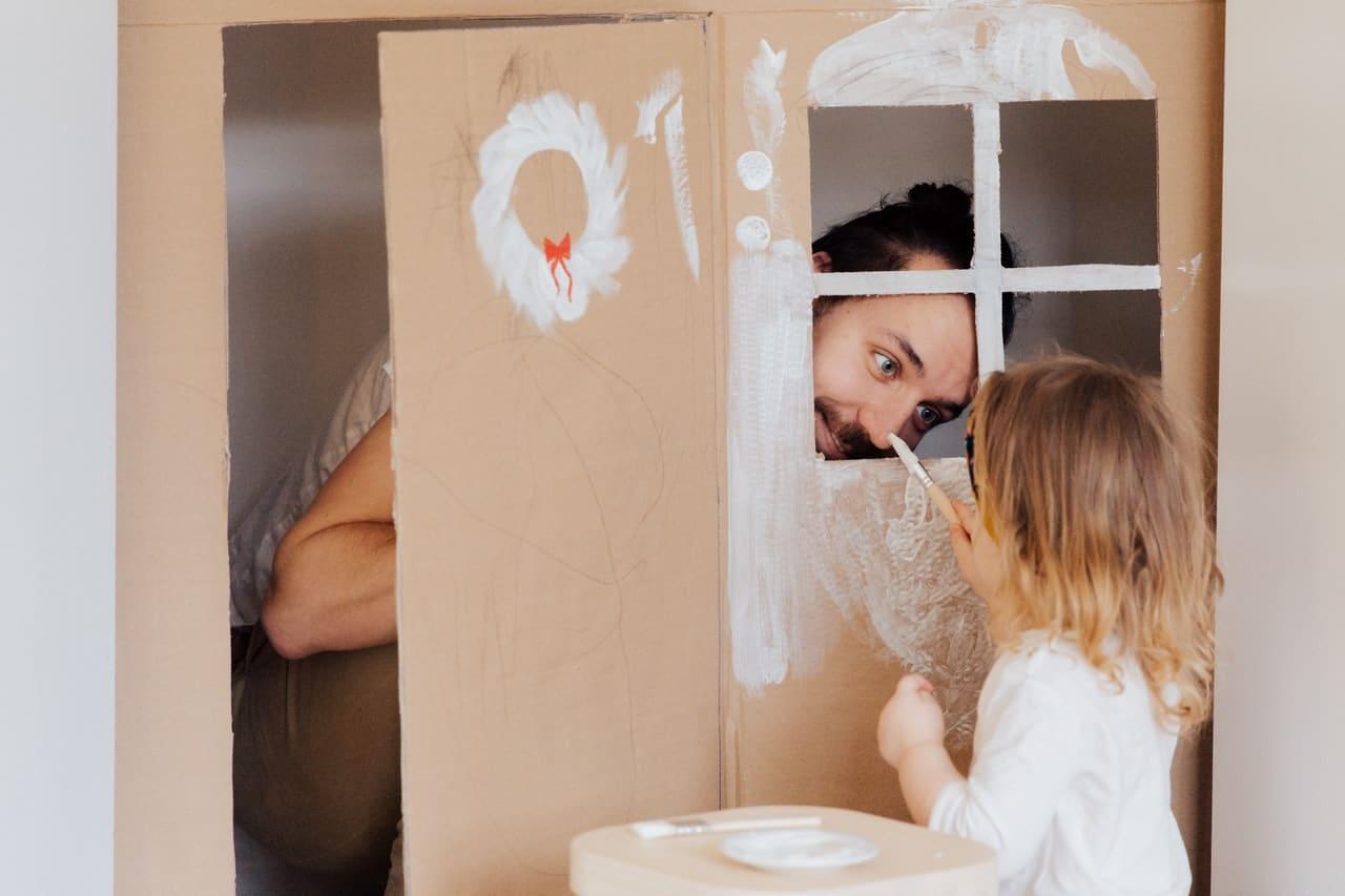 fête des pères vœux et souhaits d'une fille à son papa