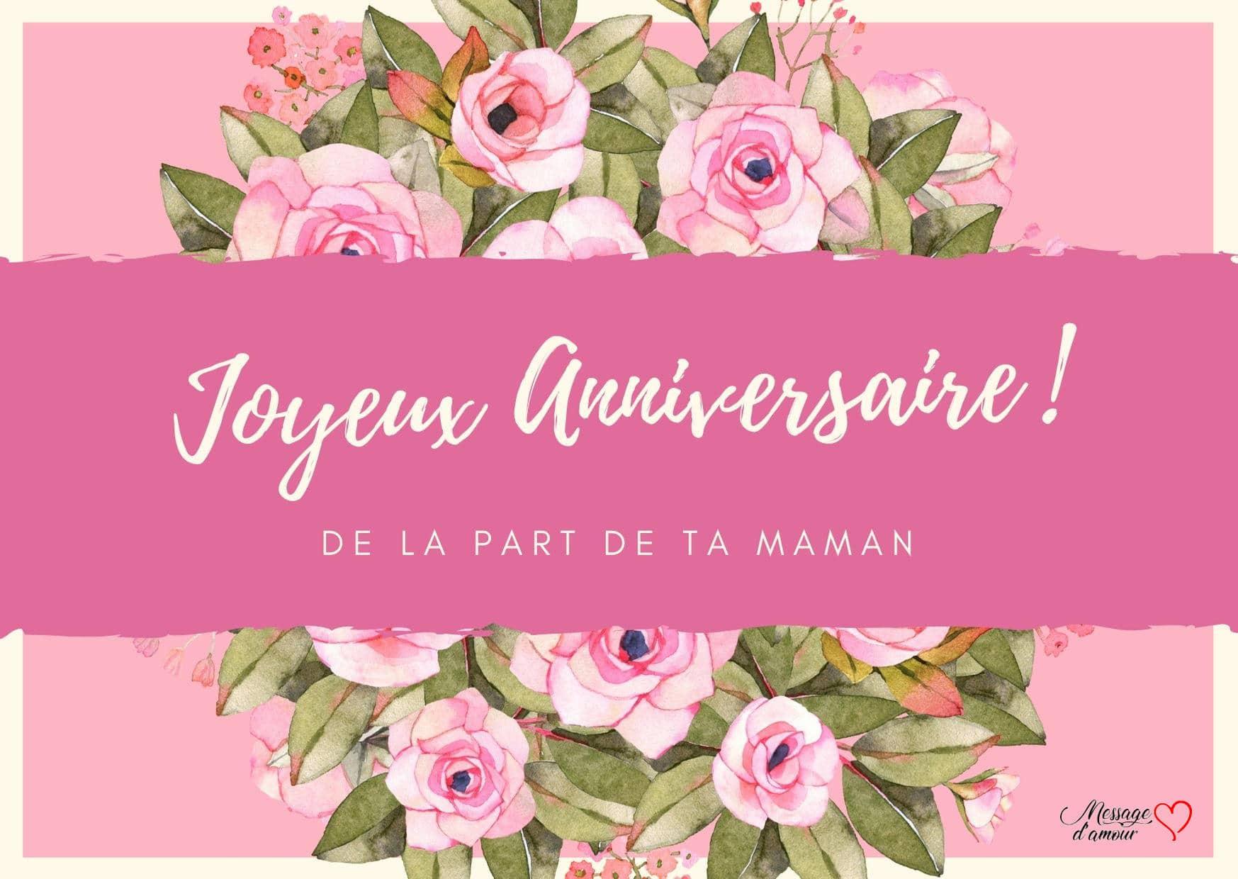 Textes Pour Souhaiter Joyeux Anniversaire A Sa Fille Message D Amour