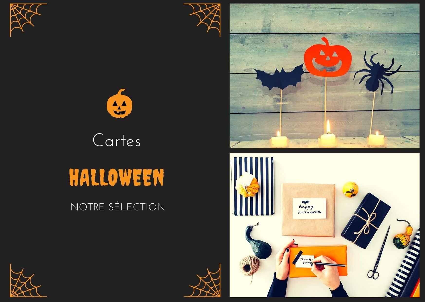 Carte Halloween notre sélection