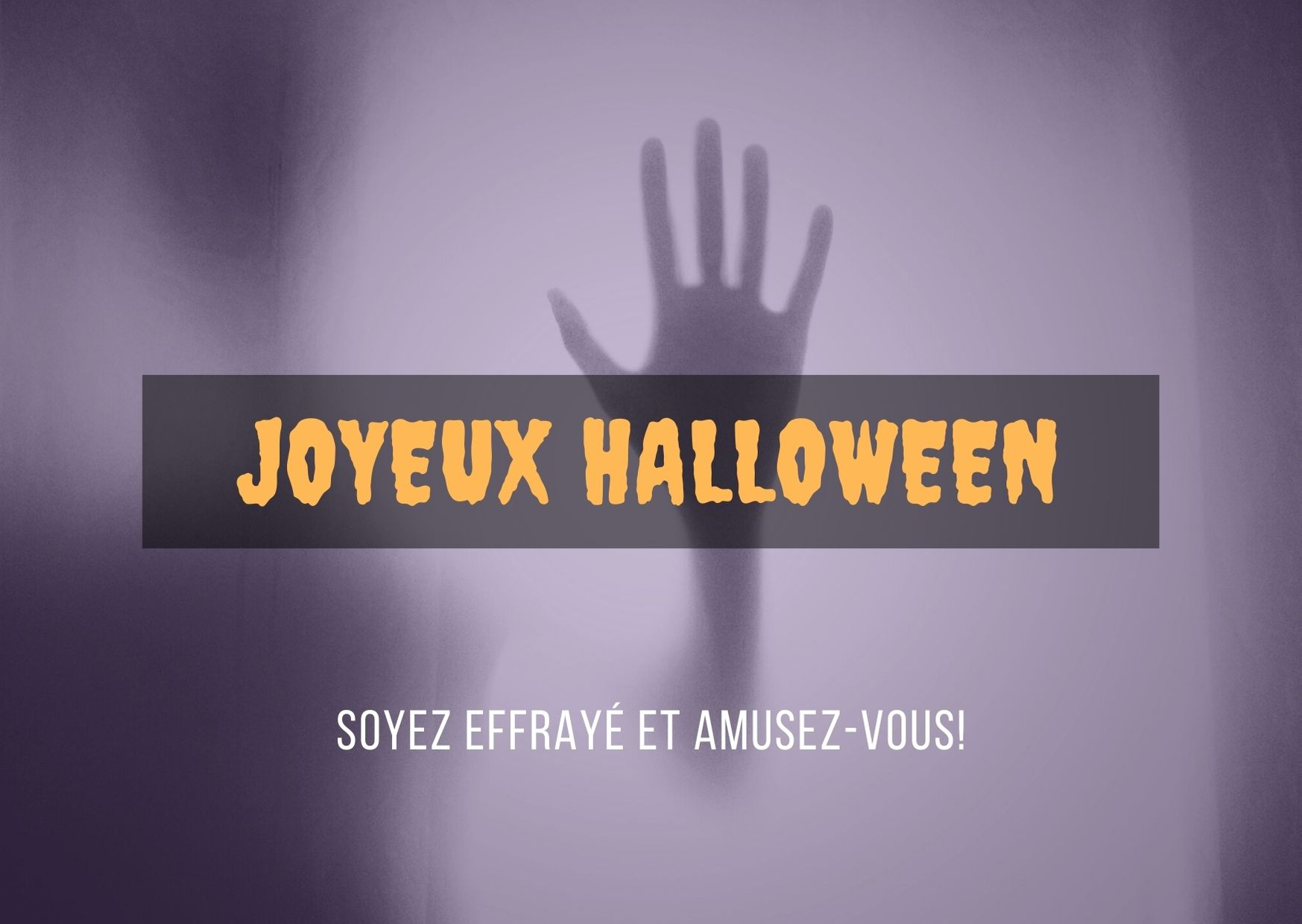 Joyeux Halloween amusez vous