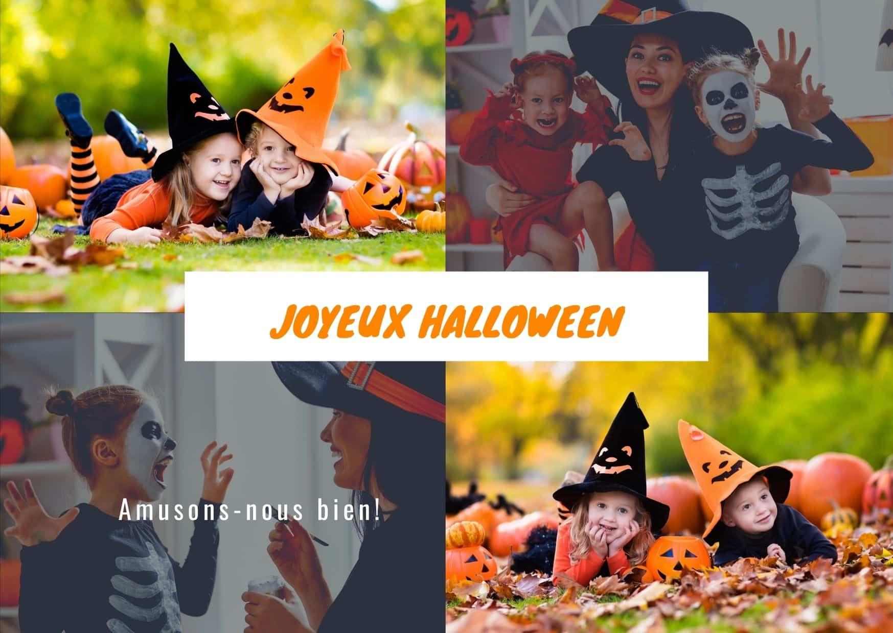 Joyeux Halloween enfant