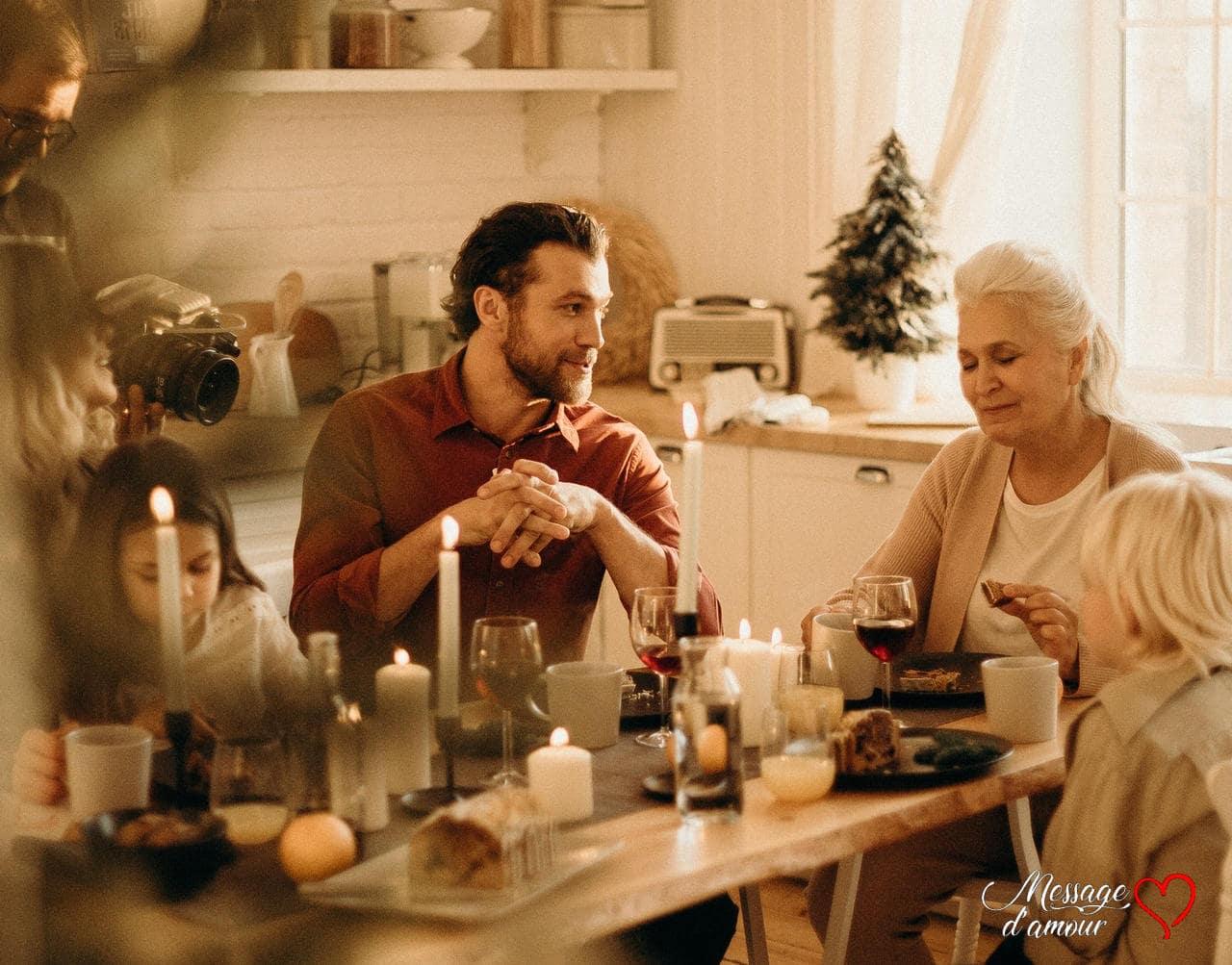 Noel avec les parents