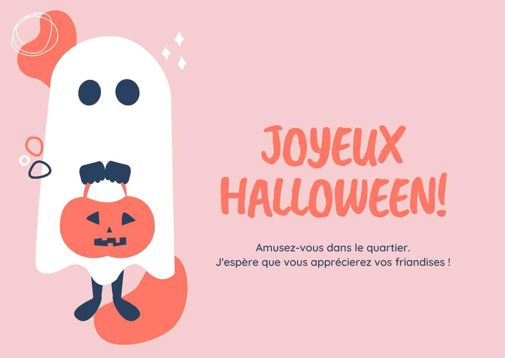 carte halloween a imprimer