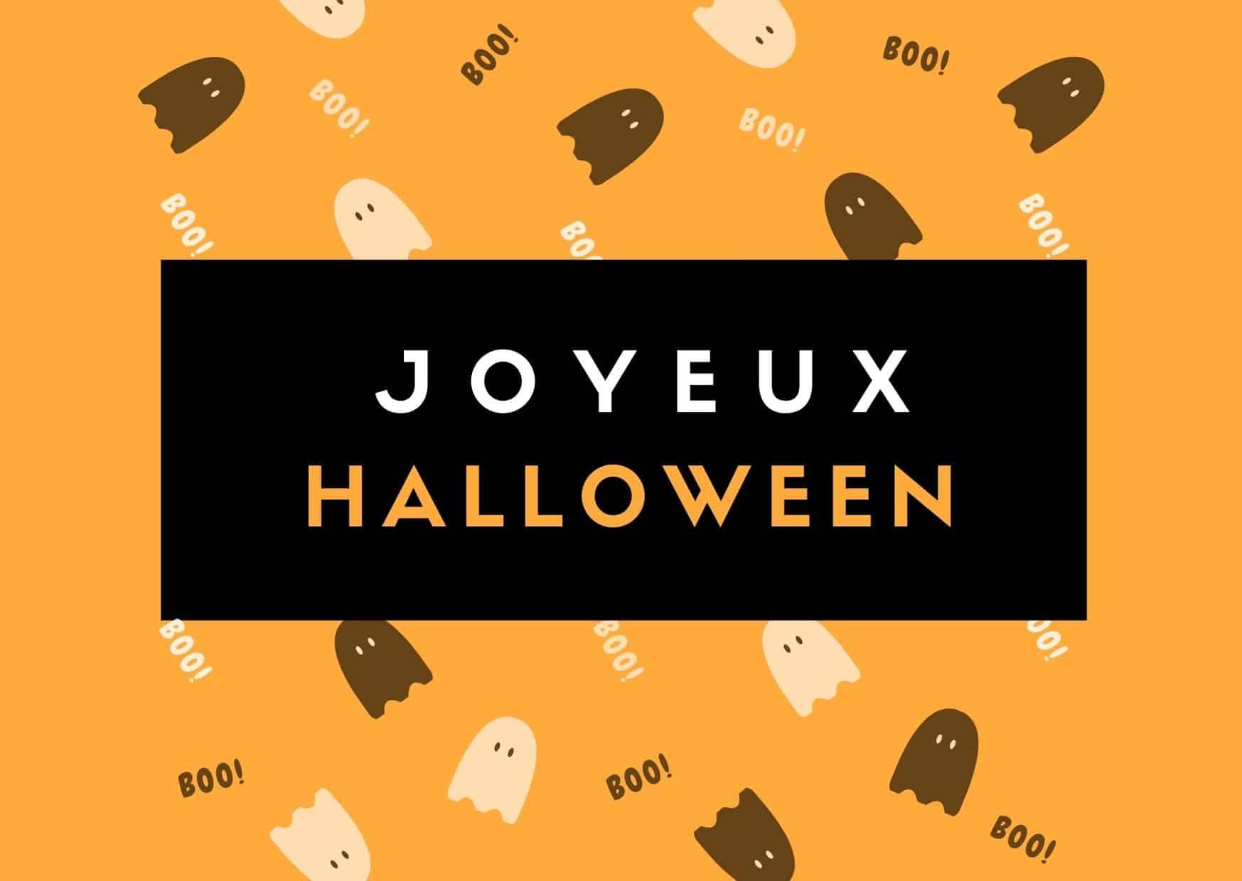 voeux joyeux halloween
