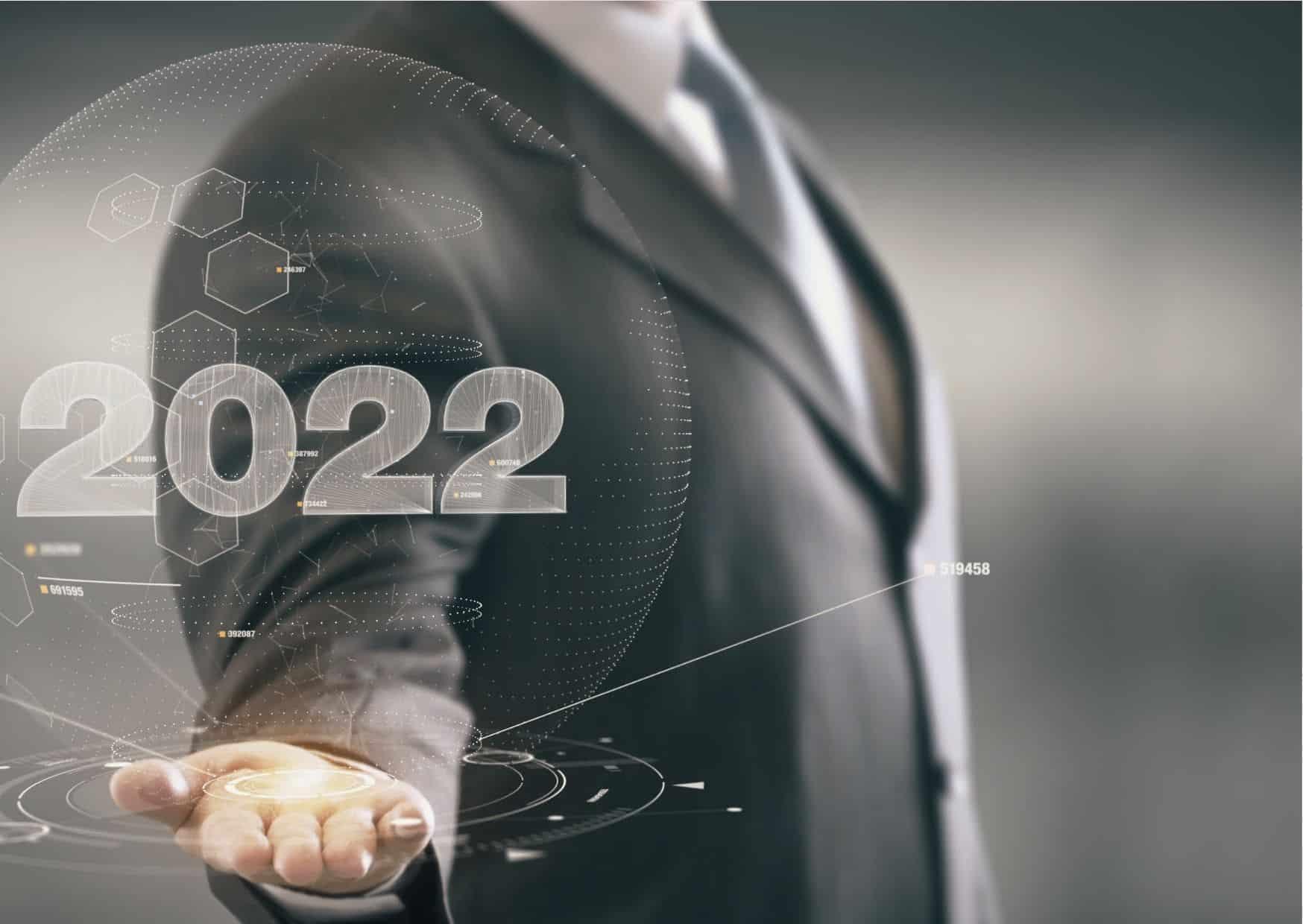 Voeux Nouvel An 2022 professionnel