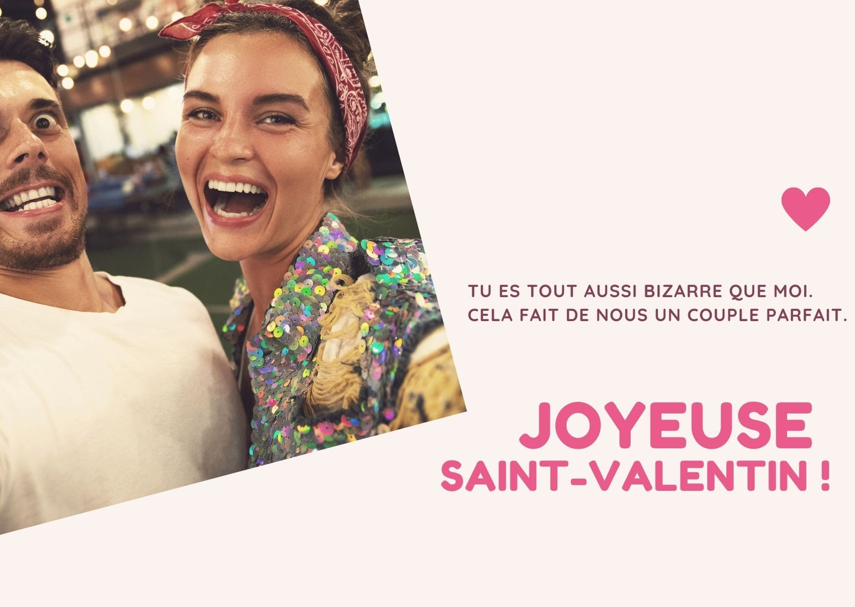 carte saint valentin humour