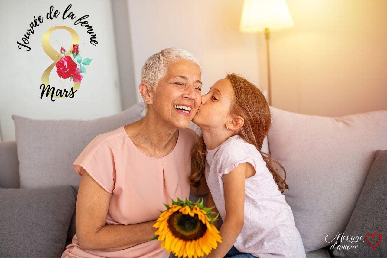 Bonne fête du 8 mars maman