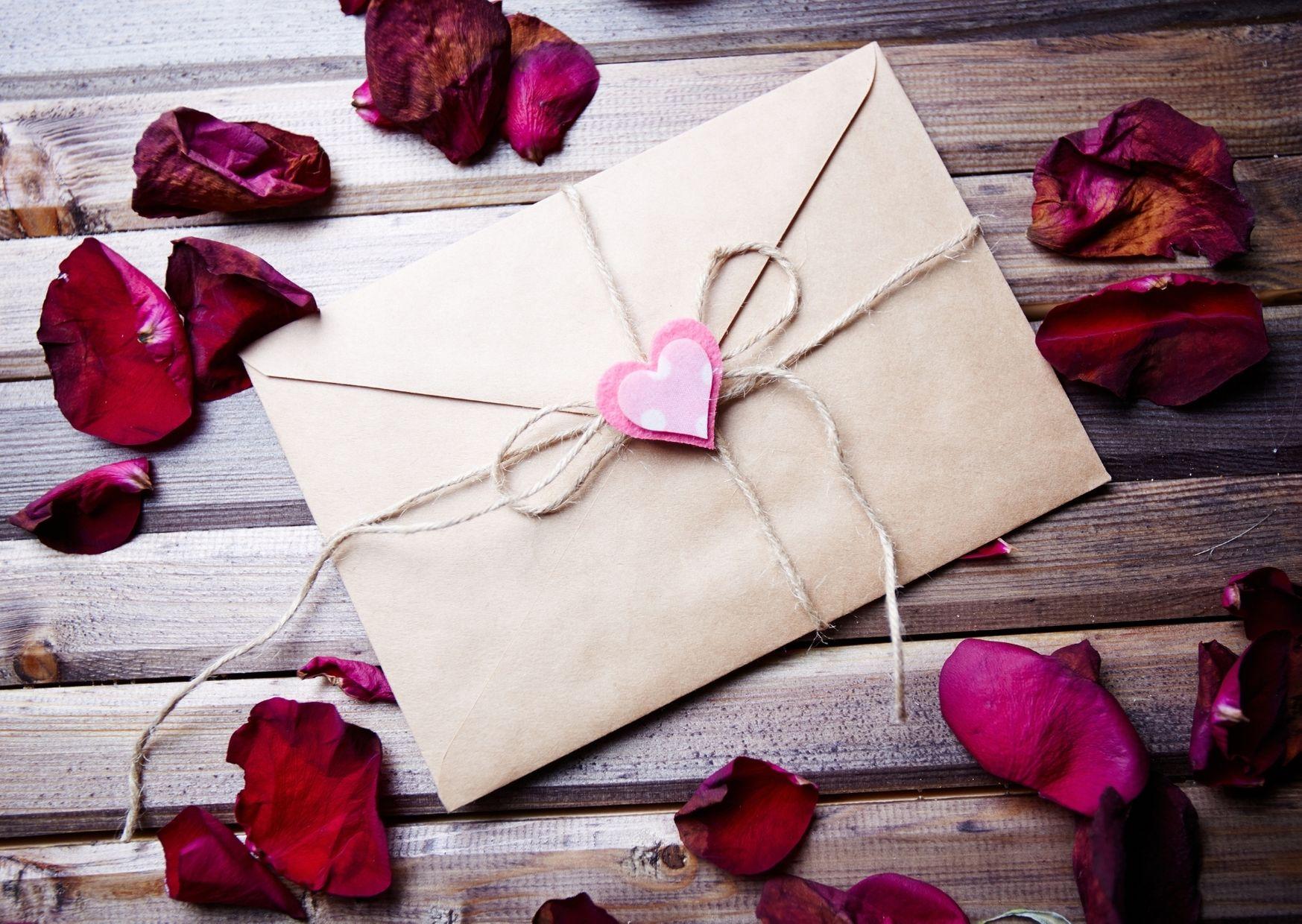 lettre Saint-Valentin