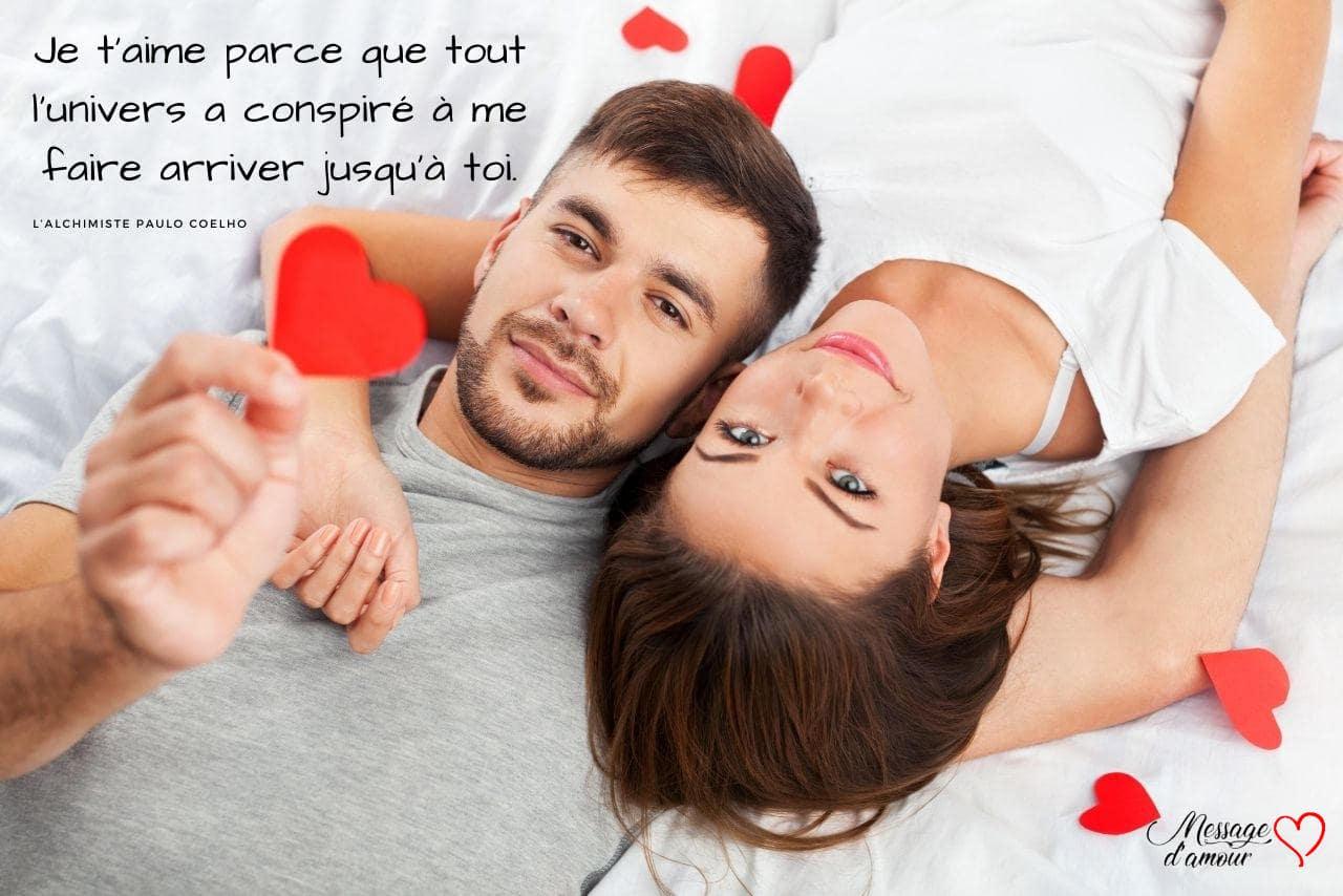 Long message d'amour
