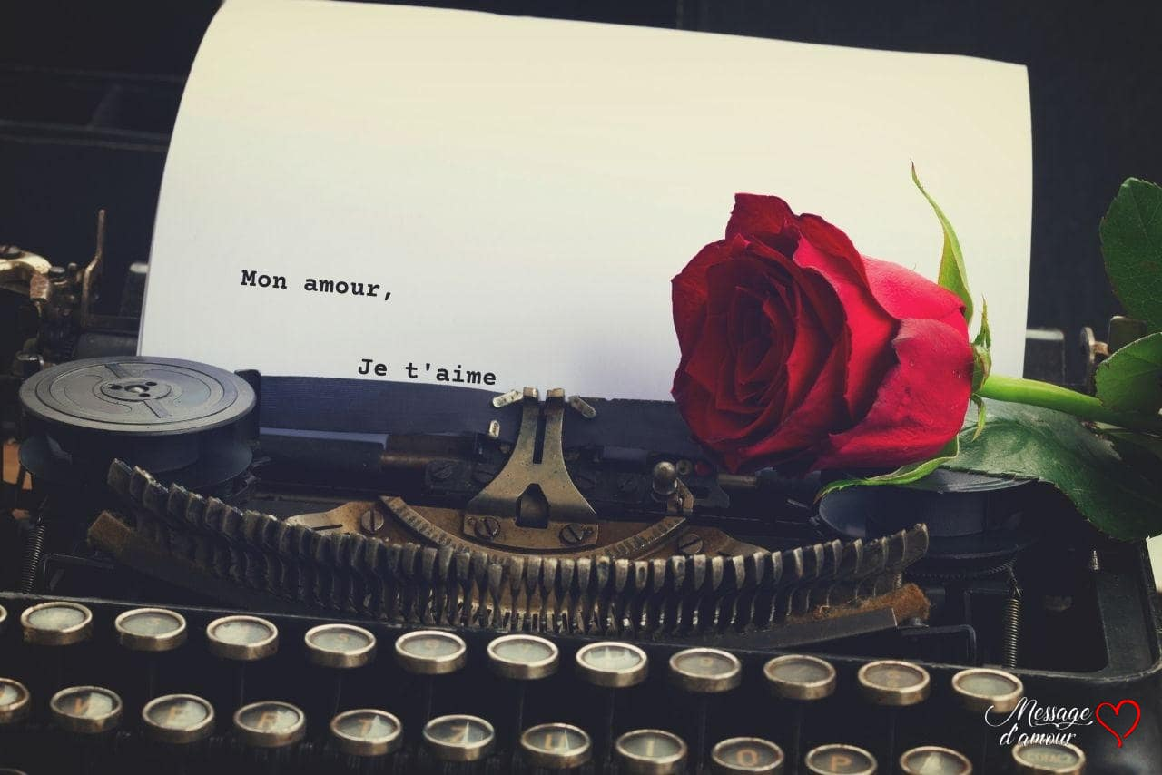 Message d'amour pour lui dire je t'aime