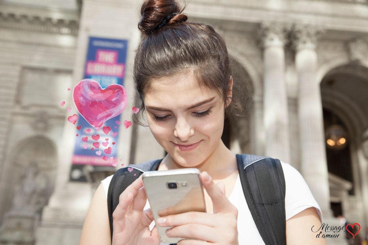 SMS d'amour pour elle