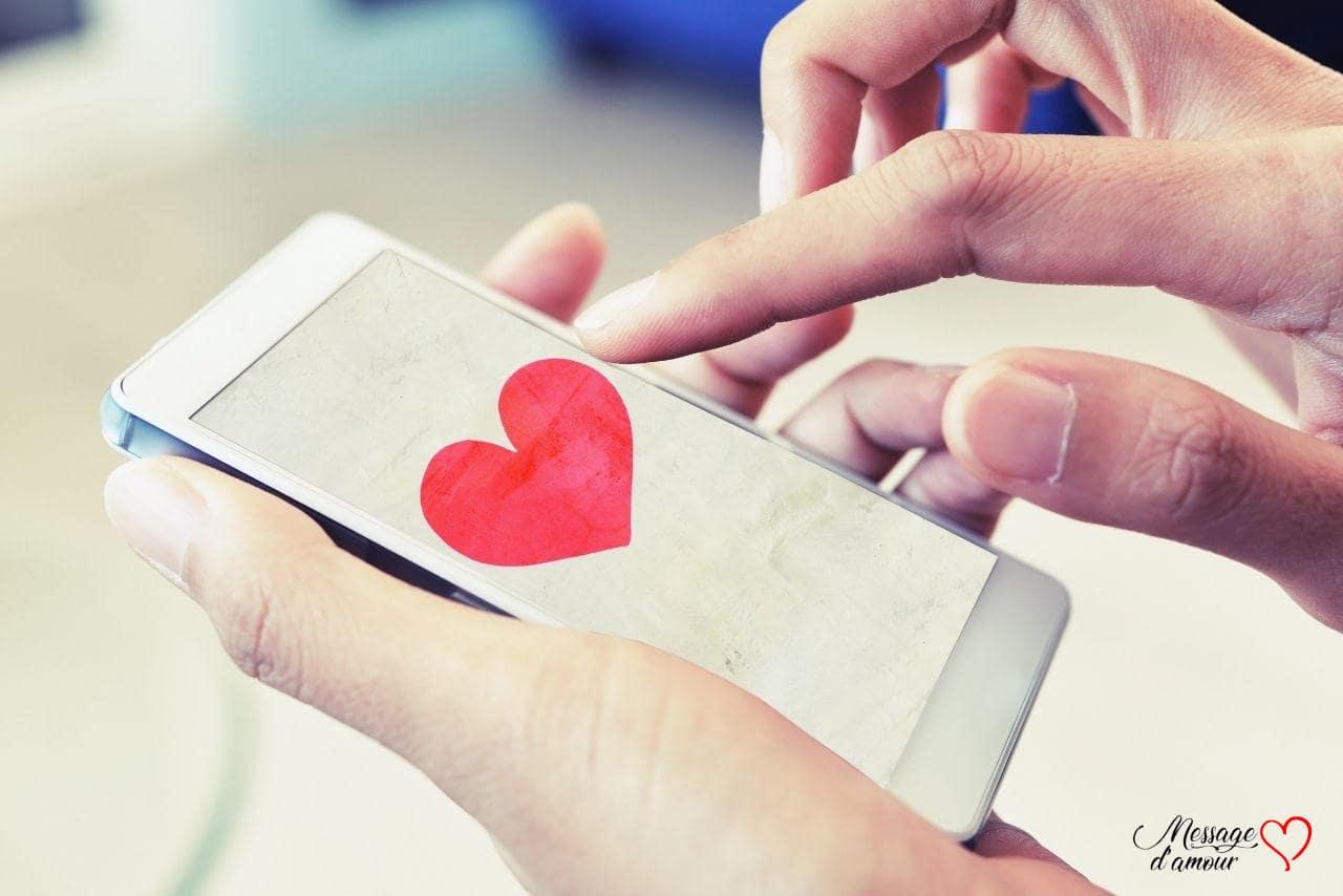 SMS d'amour pour lui