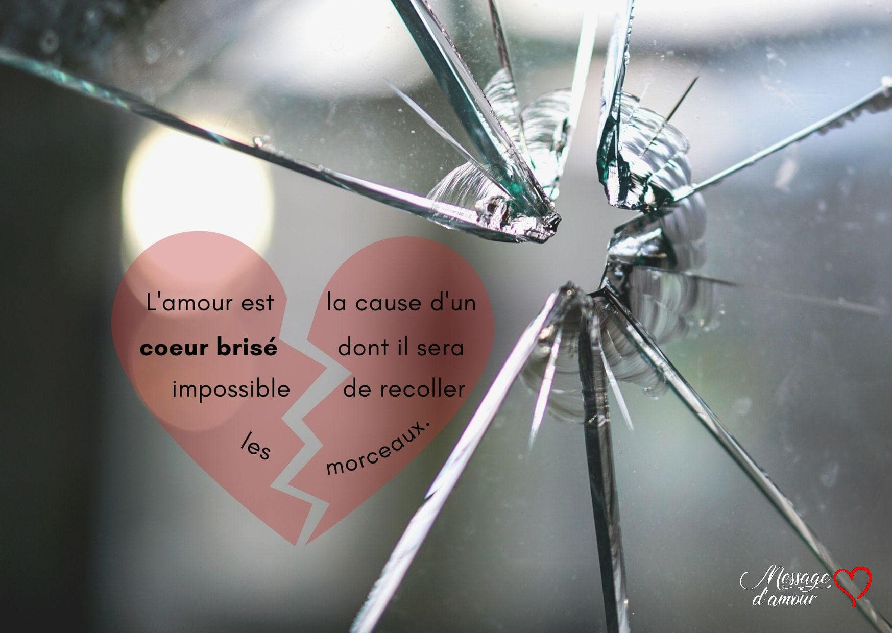 citation coeur brisé
