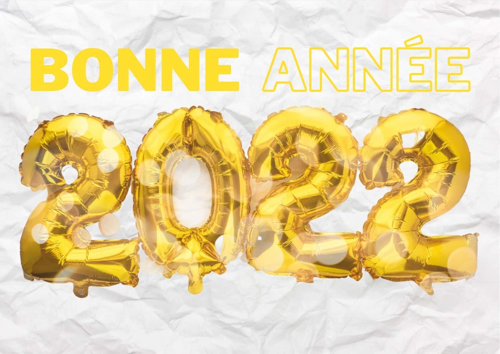 2022 bonnes fêtes de fin d'année