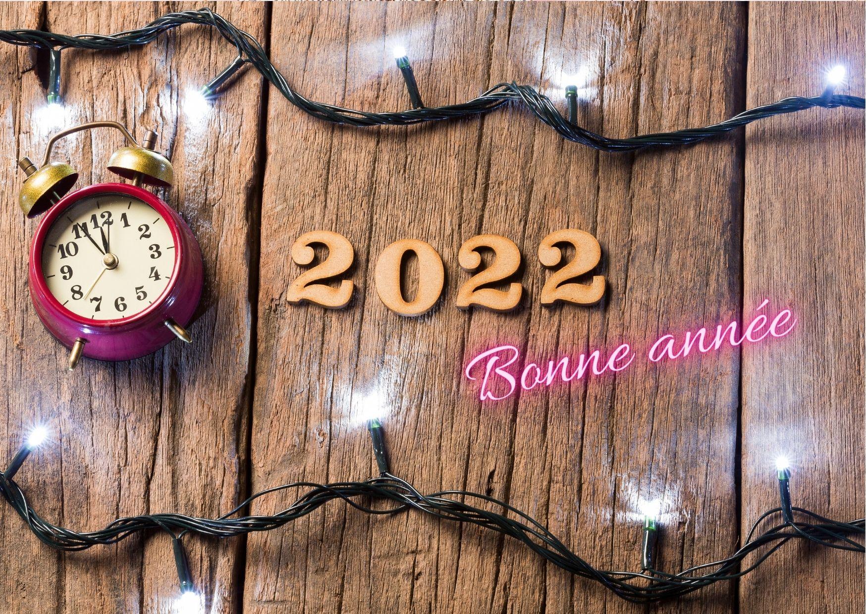 heureuse année 2022