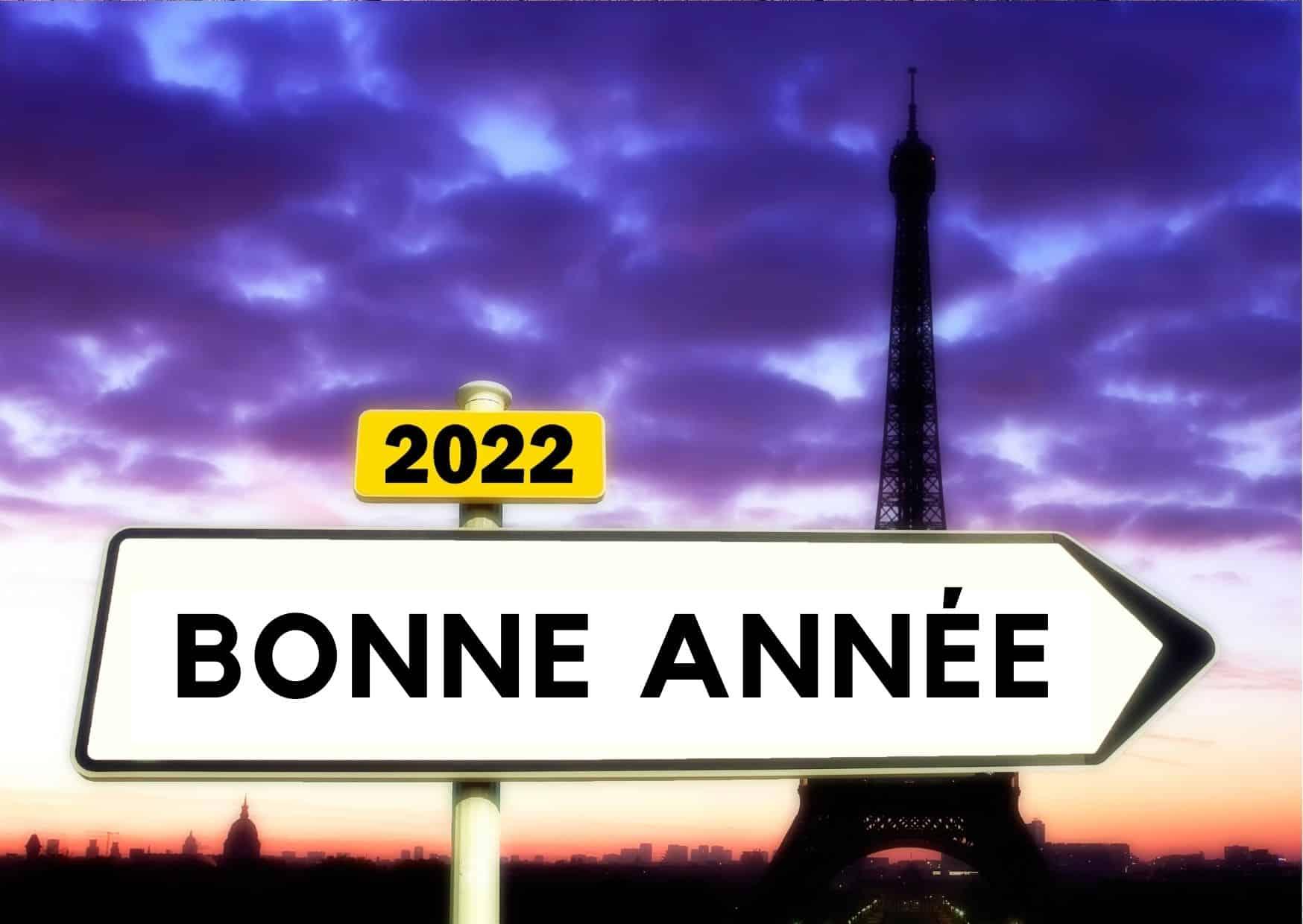 image bonne année 2022
