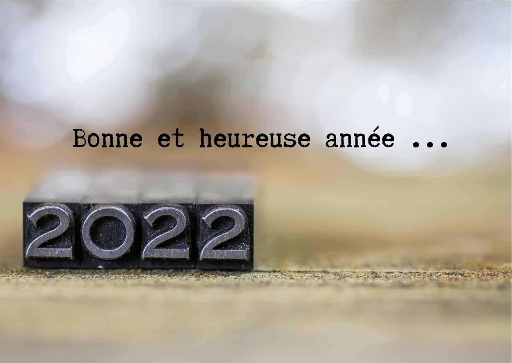 meilleurs voeux 2022